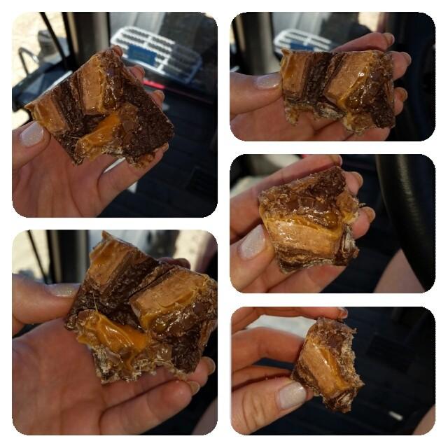 Ultimate Mars Bar Slice